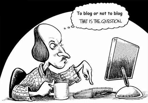 Resultado de imagen de blogírás vicces